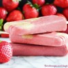 Skin-Saving Strawberry Fruit Popsicles