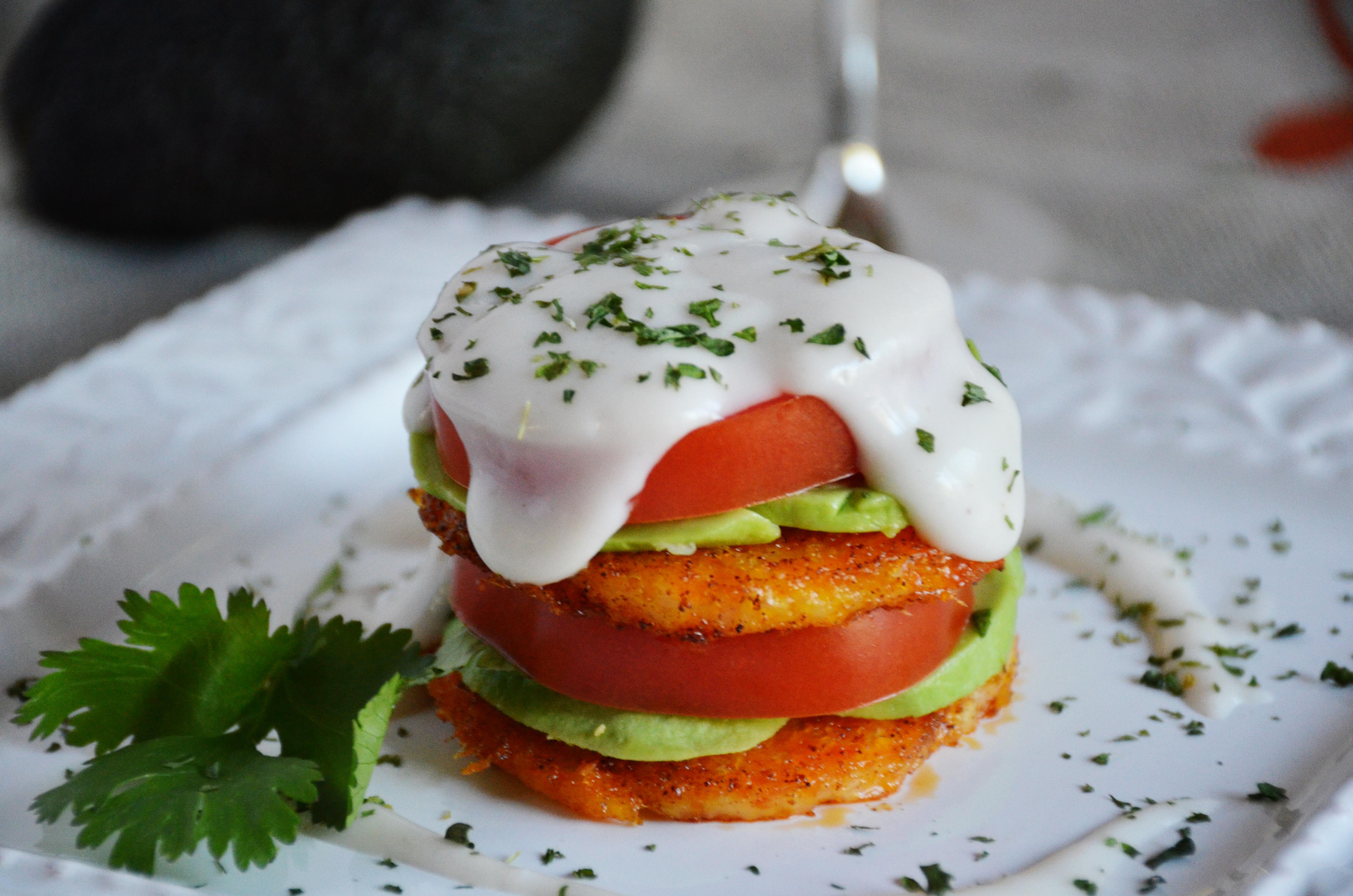 Polenta Benedict Vegan Eggs Benedict Foodscape