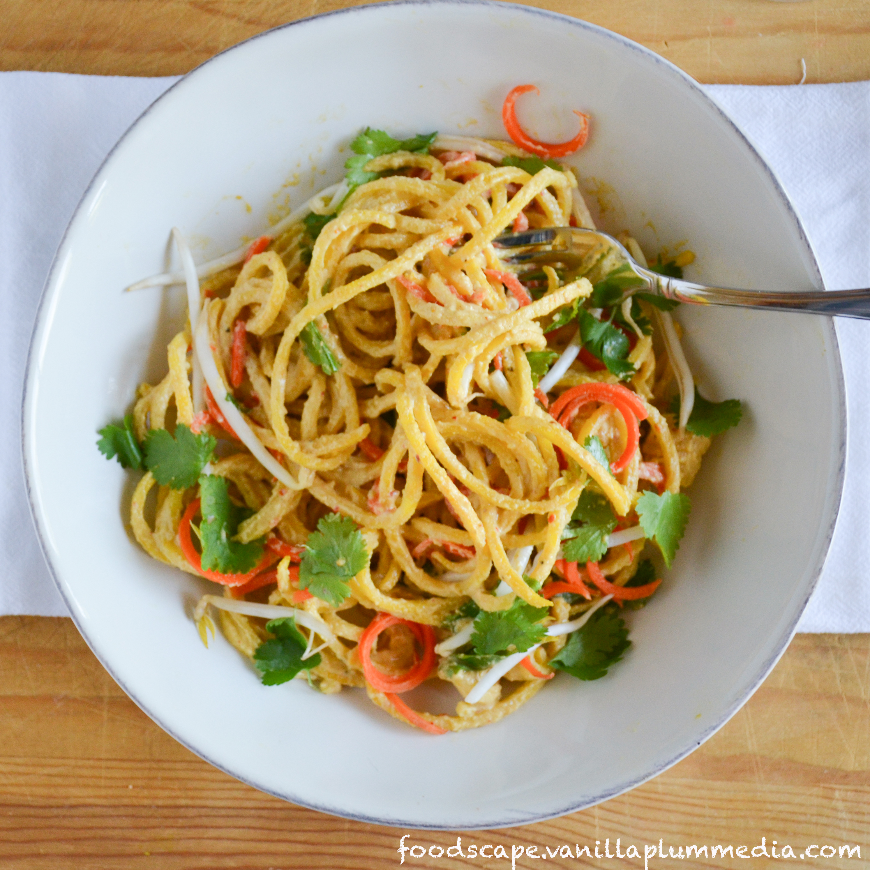 Küchenchaotin Pad Thai ~ the best no noodle pad thai foodscape